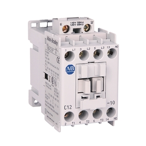 Allen-Bradley 100-C12D10 Contactor, IEC, 12A, 3P, 120VAC Coil