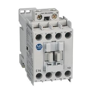 Allen-Bradley 100-C16D10 Contactor, IEC, 16A, 3P, 120V Coil
