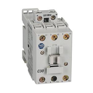 Allen-Bradley 100-C30D10 Contactor, 30A, 3P, 120VAC Coil