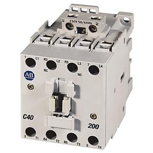 Allen-Bradley 100-C43EJ10 Contactor, IEC, 43A, 3P, 24VDC Coil, 1NO