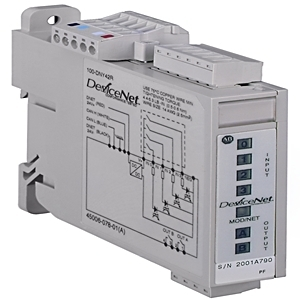 Allen-Bradley 100-DNY42R Distributed Starter, 10 x 30VDC, 4 Inputs, 2 Outputs