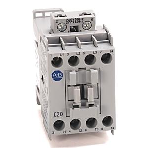 Allen-Bradley 100L-C20NT4 Contactor, Lighting, 4P, 240V, Electrically Held