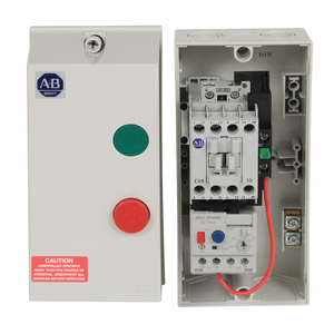 Allen-Bradley 109-C09KKFE1D-1 Starter, IEC, 9A, 230VAC Coil, 3.20-16 OLR, NEMA 1/4/4X/12-IP66