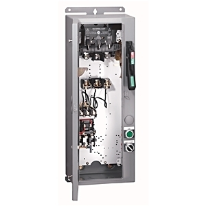 Allen-Bradley 1232-DNA-A1L-26R Pump Panel, NEMA 3, 240VAC Coil, 3R, Enclosure, E1 Overload Relay