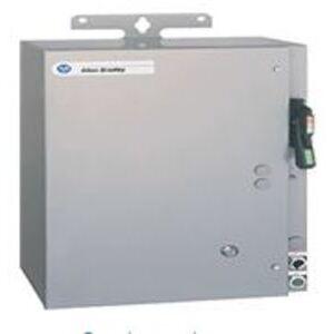 Allen-Bradley 1232X-CNB-A1J-24R Pump Panel, NEMA 2, 45A, 480VAC Coil, Disconnect Switch, NEMA 3R