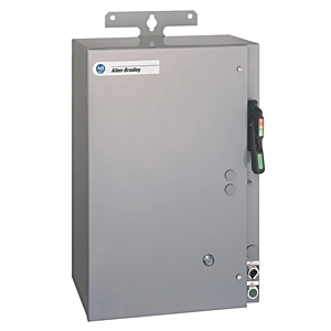 Allen-Bradley 1232X-CNCD-A2J-25R Pump Panel, NEMA 2, 45A, 120VAC Coil, Disconnect Switch, NEMA 3R