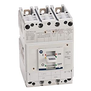 Allen-Bradley 140G-H6X3 Circuit Breaker, Molded Case, Frame H Only, 125A, 3P, 600V