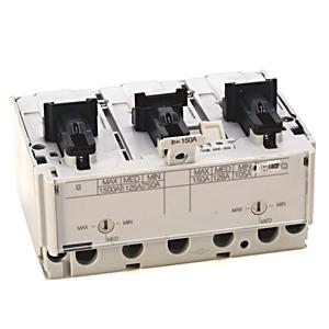 Allen-Bradley 140G-JTF3-D15 Breaker, Molded Case, 150A, 3P, 600VAC, 35kAIC, Adjustable Trip