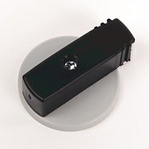 Allen-Bradley 140M-C-KN1 Twist Knob, Lockable, Black, for 1 Padlock