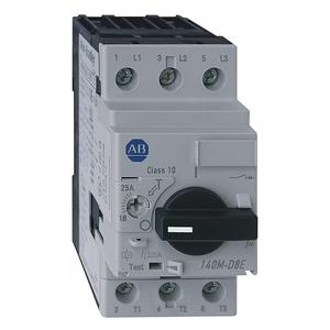 Allen-Bradley 140M-D8E-C20 Breaker, Motor Protection, 20A, D Frame, 3P, High Magnetic