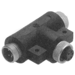 Allen-Bradley 1485P-P1N5-MN5R1 Connector, T-Port Tap, 5 Pin, Mini Connection, Right Keyway