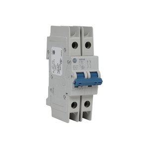 Allen-Bradley 1489-M2D060 Breaker, Miniature, 6A, 2P, 480Y/277VAC, 96VDC