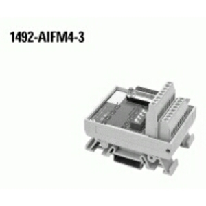 Allen-Bradley 1492-AIFM4-3 Wiring Module, 4 Channel Input/Output, or 2 Input/2 Ouput