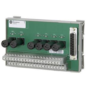 Allen-Bradley 1492-AIFMCE4-F Wiring Module, Fusible, High Speed Counter/Encoder, 2 Channel