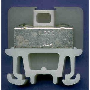 Allen-Bradley 1492-CD2 Terminal Block, White, 100A, 600V AC/DC, 14mm