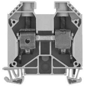 Allen-Bradley 1492-J35 Terminal Block, 150A, 1000V AC/DC, Gray, 35mm, Feed Through