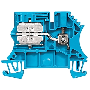 Allen-Bradley 1492-J3ND Terminal Block, Neutral Disconnect, 25A, 600V AC/DC, Blue, 2.5mm