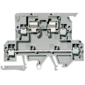 Allen-Bradley 1492-JD3FB24 Terminal Block, 10A Fused, 20A, 300V AC/DC, 2 Level, Gray, 4mm, LED