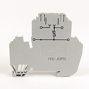 Allen-Bradley 1492-JD3PSS IEC 2CKT PLUG-IN BLK