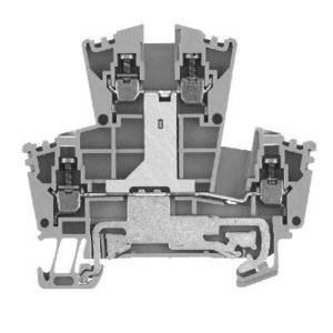 Allen-Bradley 1492-JDG3C Terminal Block, Grounding, 2 Level, Green/Yellow, 2.5mm