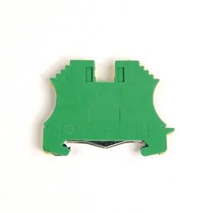 Allen-Bradley 1492-JG4 Terminal Block, Grounding, 22 - 10AWG, Green/Yellow, 4mm