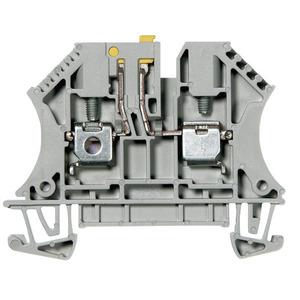 Allen-Bradley 1492-JKD4 Terminal Block, Knife Disconnect, 22A, 600V AC/DC, Gray, 4mm