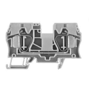 Allen-Bradley 1492-L10 Terminal Block, 60A, 600V AC/DC, Gray, 16 - 6AWG, 10mm