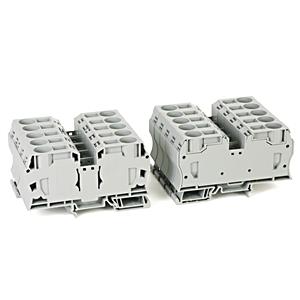 Allen-Bradley 1492-L35 Terminal Block, 120A, 600V, AC/DC, Gray, 12 - 2AWG, 35mm