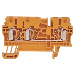 Allen-Bradley 1492-L3T Terminal Block, 25A, 600V AC/DC, Gray, 30 - 12AWG, 2.5mm