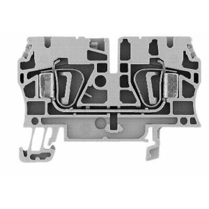 Allen-Bradley 1492-L4 Terminal Block, 33A, 600V AC/DC, Gray, 26 - 10AWG, 4mm