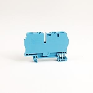 Allen-Bradley 1492-L6-B Terminal Block, 50A, 600V AC/DC, Blue, 22 - 8AWG, 6mm