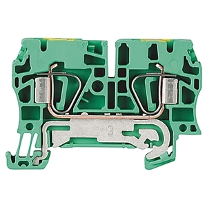 Allen-Bradley 1492-LG4 Terminal Block, Grounding, Green/Yellow, 26 - 10AWG, 4mm