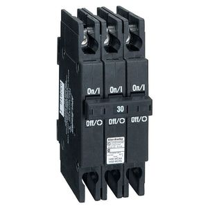 Allen-Bradley 1492-MCEA115 Breaker, 15A, 1P, 120VAC, Ground Fault Sensing, 30mA Sensitivity