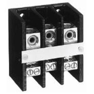 Allen-Bradley 1492-PD3141 Distribution Block, 175A, 600V AC/DC, 3P, Aluminum, 1 In/4 Out
