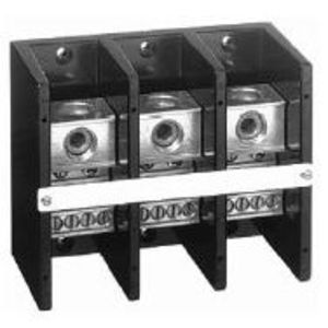 Allen-Bradley 1492-PD3183 Distribution Block, 335A, 600V AC/DC, 3P, Aluminum, 1 In/8 Out