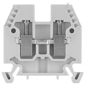 Allen-Bradley 1492-W6-B Terminal Block, 40A, 600V AC/DC, Blue, 6mm, Space Saver