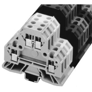 Allen-Bradley 1492-WMD1 Terminal Block, 2 Circuit Mini Feed Through, 1.5mm, Gray
