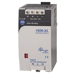 Allen-Bradley 1606-XL120E-3 Power Supply, Standard, 120W, 24 - 28VDC Output, 3-Phase