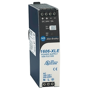 Allen-Bradley 1606-XLE120E Power Supply, 120W, 24 - 28VDC, Output, 120/240V AC Input