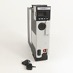 Allen-Bradley 1756-L71 Controller, 2MB, 0.98MB I/O Memory, USB Port, Chassis Mount