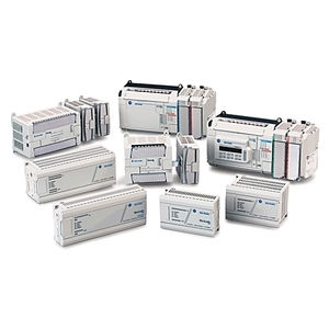 Allen-Bradley 1763-L16BWA Controller, 10 Digital Inputs, 6 Digital Relay Outputs, 24VDC