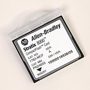 Allen-Bradley 1783-MCF Memory Card, Stratix 8000 CompactFlash, Replacement