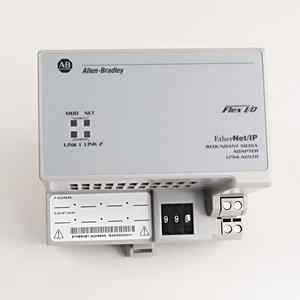 Allen-Bradley 1794-AENT Communication Adapter, Flex I/O Ethernet/IP, 8 Modules, 24VDC