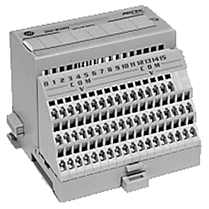 Allen-Bradley 1794-TB3GS Terminal Base, Grounded Spring Clamp, 10A, 31.2VDC