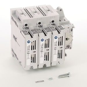 Allen-Bradley 194R-C30-1753 Disconnect Switch, Fused, 30A, 600VAC, 250VDC, Rotary, Class CC