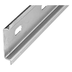 Allen-Bradley 199-DR1 DIN Rail, Slotted, Zinc Plated Steel, 35mm x 7.5mm x 1m