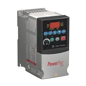 Allen-Bradley 22A-B1P5N104 Drive, 240VAC, 3PH, 1.5A, 0.2KW, 0.25HP, No Filter
