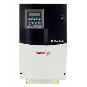 Allen-Bradley 22C-D045A103 Drive, Fan/Pump, 480VAC, 3PH, 22kW, 30HP, 45.5A, Frame D