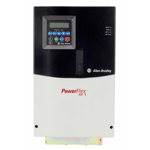 Allen-Bradley 22C-D060A103 Drive, PowerFlex 400, 480VAC, 3PH, 60A, 30KW, 40HP, IP20