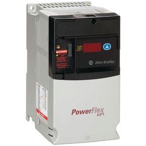 Allen-Bradley 22D-B2P3N104 Drive, PowerFlex 40P, 240VAC, 3PH, 2.3A, 0.4KW, 0.5HP, No Filter